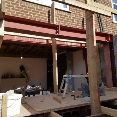 Double Box Frame for Set Back Rear Wall-min